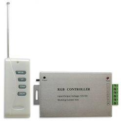 RGB LED kontrolér Premium Line lighting hliníkový  s RC dálkové ovládání