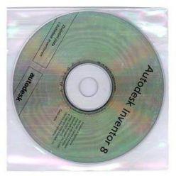 Polypropylenová obálka pro 1 CD/DVD, 100ks, průhledná