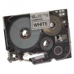 Brother TZ-231, bílá / černá (12mm, laminovaná)