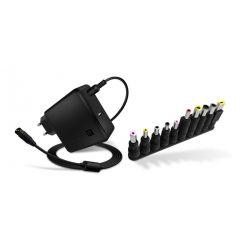CONNECT IT univerzální 65W notebookový adaptér s nabíjecím USB portem