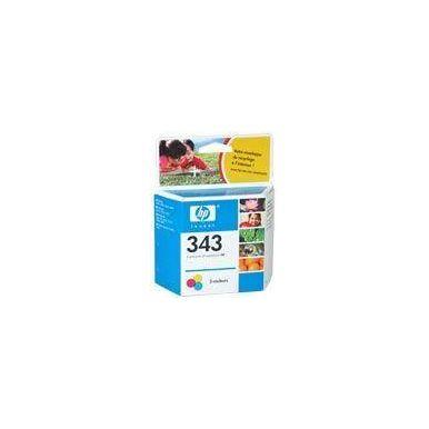 HP C8766EE náplň č.343 barevná 7ml