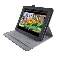 TRUST Pouzdro se stojánkem Premium Folio Stand pro iPad, černé
