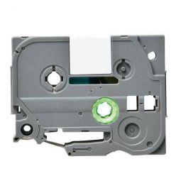 Páska TZE-211 (TZE211) kompatibilní pro Brother, 6mm, bílá/černá, laminovaná, délka 8m