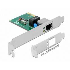 Delock gigabitová síťová karta, Realtek RTL8111H, LP, PCIe