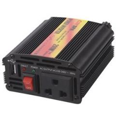 Carspa CAR200U-24, 24V/230V+USB 200W