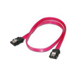 Digitus SATA III připojovací kabel, 0.3m, kovová západka