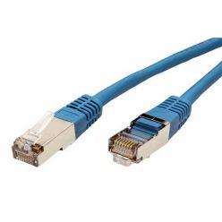 S/FTP patchkabel kat. 5e, 2m, modrý, Roline