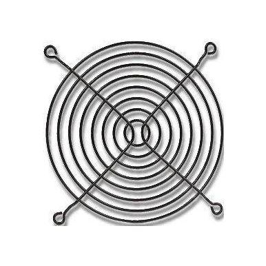 Mřížka na ventilátor 92x92 černá