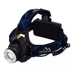 LED čelovka Cattara 13123, 570 lm, IP44, černá