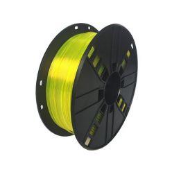 GEMBIRD 3D PETG plastové vlákno pro tiskárny, průměr 1,75mm, 1kg, žlutá