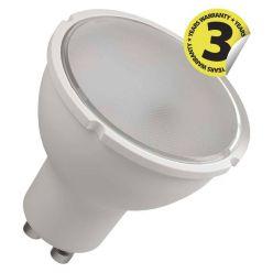 Emos LED žárovka MR16, 5.5W/40W GU10, WW teplá bílá, 465 lm, Classic A+