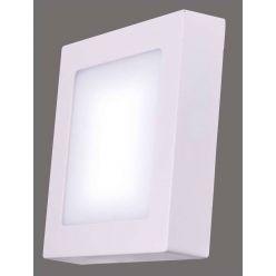 Emos přisazené LED svítidlo, čtverec 12W/55W, NW neutrální bílá, IP20