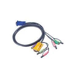 ATEN integrovaný kabel 2L-5302P pro KVM PS/2 1.8 M pro CS1758