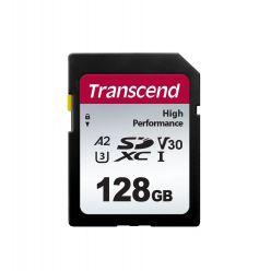 Transcend 128GB SDXC karta, UHS-I U3 A2, 100R/85W