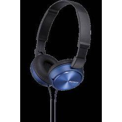 SONY MDR-ZX310, sluchátka, modro-černá