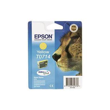 Epson T0714 žlutá inkoustová cartridge, 5.5ml, C13T07144010