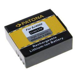 Náhradní baterie PATONA baterie pro foto SJCAM SJ4000 900mAh Li-Ion