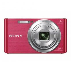 "SONY DSC-W830P, 20MPx, 8x zoom, 2.7"" LCD, růžový"