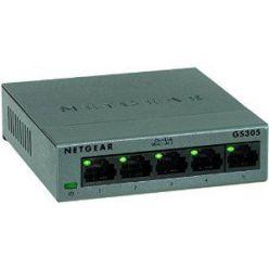 Netgear GS305 v3 5-port Gigabit switch, kovový