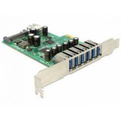 Delock interní USB 3.0 řadič, 6x externí + 1x interní port, PCIe