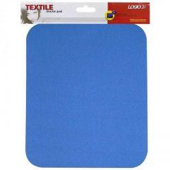 Podložka pod myš, měkká, modrá, 24x22x0,3 cm