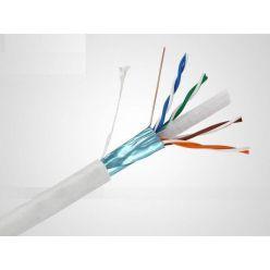 PremiumCord CAT6A FTP Kabel 4x2,drát AWG23,čistá měď 100m LSOH