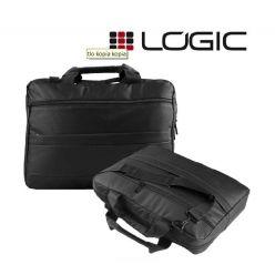"""Modecom Logic brašna BASE 15 pro notebooky do velikosti 15,6"""", 3 kapsy, černá"""