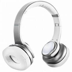 EVOLVEO SupremeSound 8EQ, Bluetooth sluchátka s mikrofonem, stříbrná