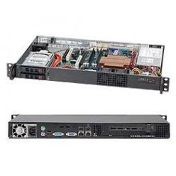 "SUPERMICRO mini1U chassis, 2x 2,5""HS SAS/SATA, 200W (80 Plus - Gold)"