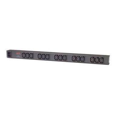 APC Basic Rack PDU, Zero U, 16A, 208&230V, (15)C13