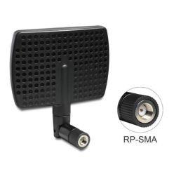 Delock WLAN 802.11 ac/a/b/g/n anténa RP-SMA samec 5 ~ 7 dBi směrová s otočným kloubem černý