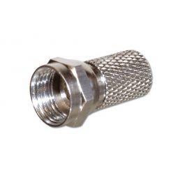 F-Konektor šroubovací 5,0/6,5 mm
