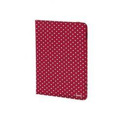 """HAMA pouzdro na tablet polka Dot, do 20,3 cm (8""""), červené"""