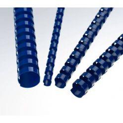 Plastový hřbet 8 mm, modrý
