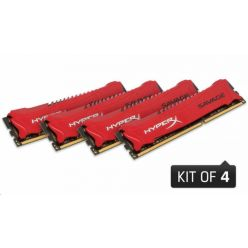 Kingston HyperX Savage 4x8GB DDR3 1600MHz, CL9, DIMM, XMP
