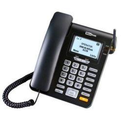 MaxCom MM28DHS, stolní GSM telefon, černý