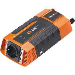 Carspa PID600 12V/230V+2xUSB 600W
