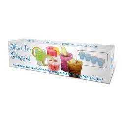 Prime Ice Shot Glasses, formy na výrobu sklenic z ledu, 4ks