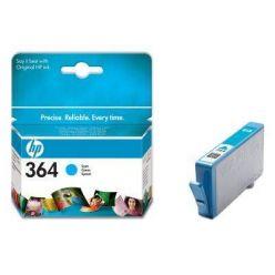 HP CB318EE, azurová cartridge č.364