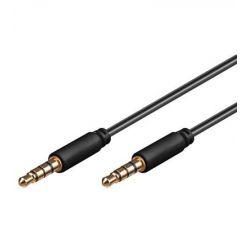 PremiumCord propojovací 4-pólový kabel Jack 3.5mm, 3m