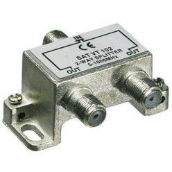 PremiumCord antenní rozbočovač na F konektory  1-2 výstupy  5-1000 MHz