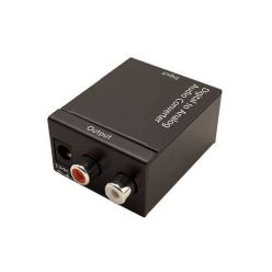 Value konvertor analog audio S/PDIF -> analog  (Toslink + Cinch -> 2x Cinch)