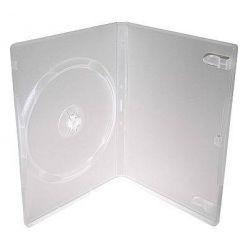 Plastový DVD box pro 1 DVD - 14mm, průhledný