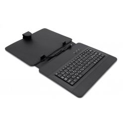 """AIREN AiTab Leather Case 3, 9.7"""" pouzdro s klávesnicí, microUSB, CZ, černé"""
