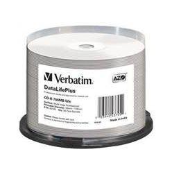 Verbatim CD-R DataLifePlus Wide Printable, 700MB, no ID, 52x, 50ks, spindle