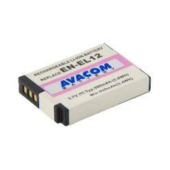 Náhradní baterie AVACOM Nikon EN-EL12 Li-Ion 3.7V 980mAh 3.6Wh