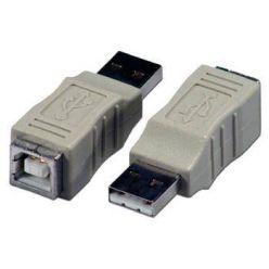 PremiumCord USB redukce A-B, Male/Female