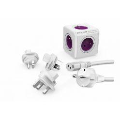PowerCube Rewirable + Travel Plugs + IEC