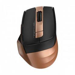 A4tech FG35 Bronze, bezdrátová optická myš, 2000dpi, USB, bronzová