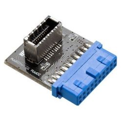 AKASA interní redukce z 19-pin USB 3.0 -> 20-pin USB 3.1